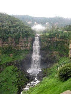 Tequendama Falls Colombia | The Tequendama Falls, Colombia