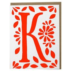 I pinned this Katharine Watson K Monogram Notecard (Set of 5) from the Mudlark & Katharine Watson event at Joss and Main!