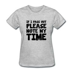 Please Note My Time Women's T-Shirts