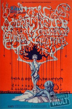 Ten Years After Fillmore West poster by Lee Conklin