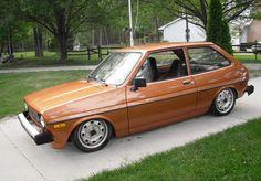 1980 Ford Fiesta   Lowered, Slammed