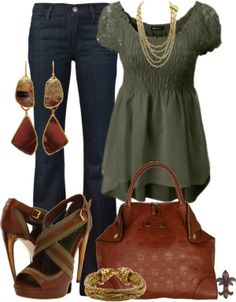 Get Inspired by Fashion: Spring Outfits | Lacy Olive - love the blouse (hate the shoes, as usual!)
