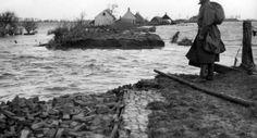 http://www.isgeschiedenis.nl dijkdoorbraak watersnoodramp Zeeland 1953