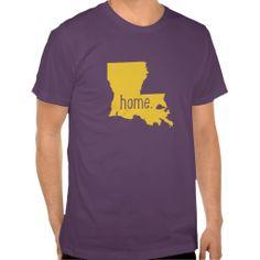 Louisiana Home State Tee