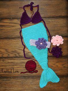 Ravelry: Newborn Mermaid Bikini Top pattern by Tina St Pierre