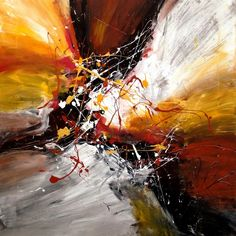 Dan Bunea, living abstract paintings - My collections of paintings