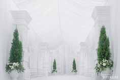 WedLuxe– White Space | Photography By: L'Atelier Lumière International Photographie Follow @WedLuxe for more wedding inspiration!