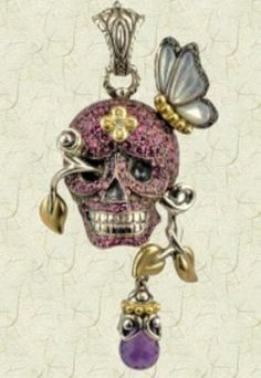 Bethany would love this.    http://www.qvc.com/Barbara-Bixby-Sterling18K-Skull-Enhancer-with-Gemstone-and-Pearl-Drop-Pendants-Jewelry.product.J278501.html?sc=J278501-User_sp=VIEWPOSITION-_-14-_-J278501=http://images-p.qvc.com/is/image/j/01/j278501.001?$uslarge$