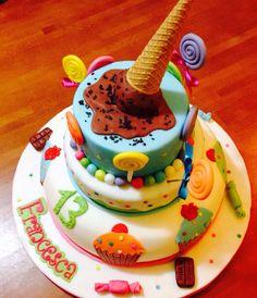 Torta con gelato