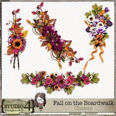 Fall on the Boardwalk - Clusters