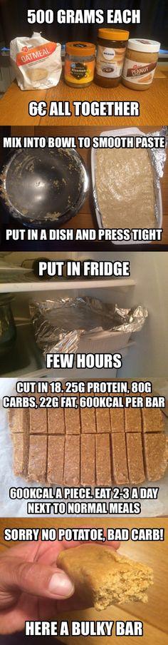 Eat a bulky bar