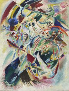 V. Kandinskij,Panel for Edwin R. Campbell No. 4,Museum of Modern Art,New York.