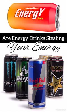 Energy drinks are commonly consumed to help people feel more energized, but they could be stealing your energy. Learn how they work, and the downside to consuming them on a regular basis. #EnergyDrinks #Energy #MoreEnergy Back Tattoo Women, Healthy Living Tips, Physical Education, Energy Drinks, Helping People, Language, Advice, Nutrition, Ads