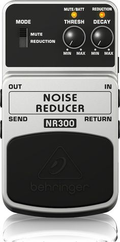 Behringer Eliminate Unwanted Noise Reduce Guitar Effect Pedal Adapter Gate NEW