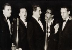 The Rat Pack - Only Joey Bishop remains alive.