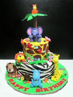 safari birthday cake | Thank you Regina & Ealbert (from Mother & Baby Magazine) for the ...