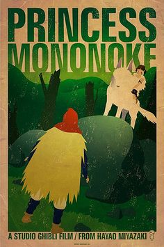 she is a princess.  named mononoke.  and she rides a wolf and will KICK YOUR ASS (if you try to hurt the earth)
