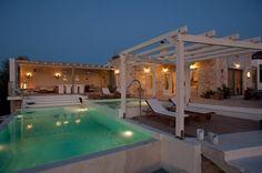 Libyan sea view villa with glass and stone, Villas for Rent in Pitsidia Crete