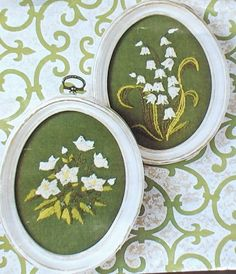 Lily of the Valley Embroidery Kit