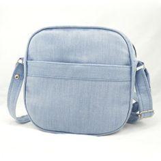 Jak uszyć torebkę z zamkiem, sportowa torebka na ramię - wykrój na torebkę i tutorial