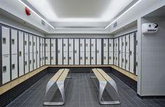 Image result for back to back locker room plan