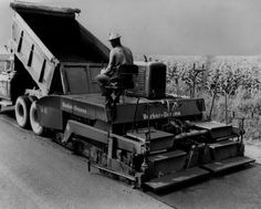 Equipment Identification: Paving Equipment and Batch Plants | Historical Construction Equipment Association