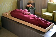 Everything Ends, Death Becomes Her, Forever Green, Sack Bag, Casket, Coffin, Toddler Bed, Funeral Ideas, Furniture