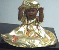"Art by Hiáli Quiñonez (Beads/Art) & Chris Quiñonez (Garment) ""Orisha Kids: Oshun"" (2002)"