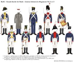 Line Infantry Regt and Empire, Book Sites, Army Uniform, Napoleonic Wars, Marines, Military, Clothes, Berg, Sailors
