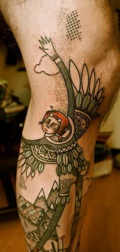 NOON Troyes, France / Traveling noontattooart.blogspot.com ... really interesting style.
