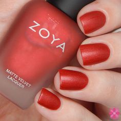 Zoya Winter/Holiday 2015 Matte Velvet Collection Swatches, Review & Giveaway | Cosmetic Sanctuary - Amal