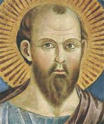 Early painting of Saint Paul