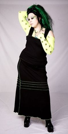 Sizes 6 to 30 Sonic Confusion Skirt  Cyber by TwistedPixieClothing, £40.00