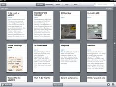 Evernote for note taking