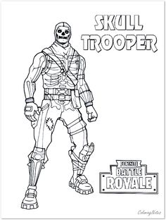 48 Best Fortnite Coloring Pages Free Printable Images In 2020