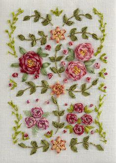 1969 best ribbon beautiful ribbon work ribbon embroidery images rh pinterest com