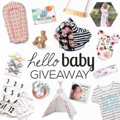 Head to @shoppinkblush next! We've teamed up with some of our favorite bloggers and shops to bring you this amazing Hello Baby bundle!  Over $750 in prizes will go to ONE lucky mama! We are giving an unlimited app download and a $30 credit to our print shop!  TO ENTER 1. Like this pic and FOLLOW ME 2. Head to @shoppinkblush 3. Repeat steps 1  2 until you have made it back to me. You must be following all the accounts for your entry to be valid we will be checking.  For one BONUS ENTRY…