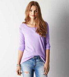 AEO Long Sleeve T-Shirt - Buy One Get One 50% Off