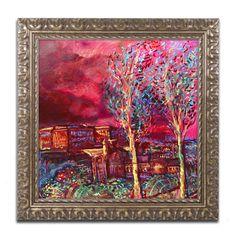 Lowell S.V. Devin 'Pompeii Afternoon' Ornate Framed Art