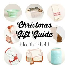 christmas gift guide: for the chef