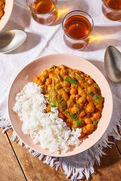 Vegan Tikka Masala, Chana Masala, Healthy Food Options, Recipes From Heaven, Superfood, Risotto, Vegan Recipes, Curry, Brunch