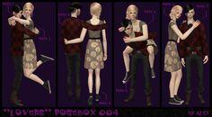 MYB Sims: Mr. Alex's Poseboxes 001,002,003 &004 by AlexSZ