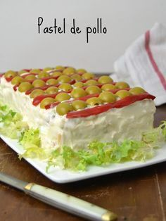 Cold Chicken Pie Recipe for use – Chicken Recipes Pie Recipes, Mexican Food Recipes, Chicken Recipes, Cooking Recipes, Tapas, Pollo Recipe, Good Food, Yummy Food, Sandwich Cake