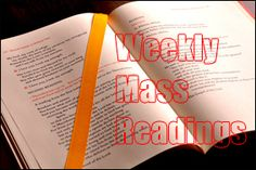 Weekly Mass Readings 2014 | Archdiocese of Cape Town