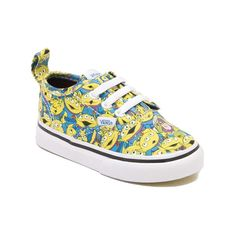 Toddler Vans Authentic V Toy Story Alien Skate Shoe