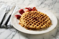 Buttermilk-Brown Sugar Waffles