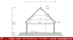 JG Dessin Architectural - Coupe pour Permis de construire d'une maison passive à CAMPHIN EN CAREMBAULT (59133)