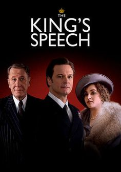 The King's Speech (2010)  Cast:     Colin Firth, Geoffrey Rush, Helena Bonham Carter, Guy Pearce, Michael Gambon, Timothy Spall, Jennifer Ehle, Derek Jacobi, Anthony Andrews, Eve Best
