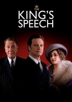 The King's Speech (2010)  Cast:     Colin Firth, Geoffrey Rush, Helena Bonham Carter, Guy Pearce, Michael Gambon, Timothy Spall, Jennifer Ehle, Derek Jacobi, Anthony Andrews, Eve Best