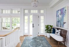 Hamptons-Inspired Home with Coastal Colors